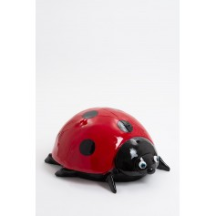 KARAMAY - 50cm - Statue coccinelle taille M colori rouge