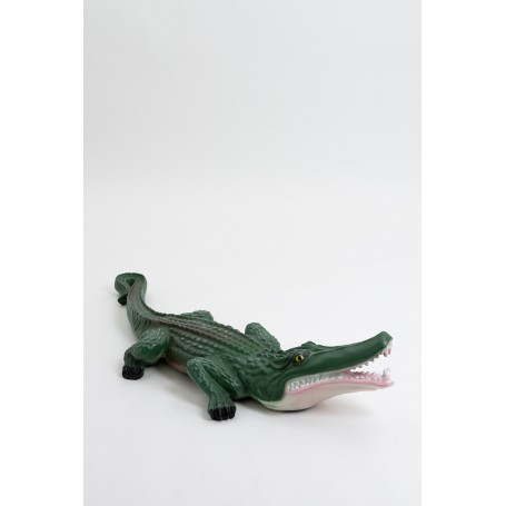 MIAMI - 100cm - Statue crocodile taille M coloris naturel